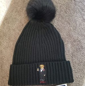 Ralph Lauren polo bear beanie